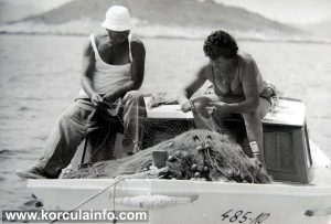 Teta Stefa and Barba Nikica - Local fisherman 1980s