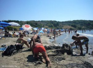 Building a Large Sand Castle at Vela Przina