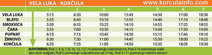 bus-vela-luka-korcula-timetable