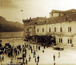 Riva and Hotel Korcula (1940s)