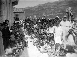 School in Korcula in 1911