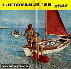 Atlas Travel Agency Tourist Brochure from 1968
