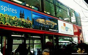 Croatia.hr advert @ double-decker, London 2013