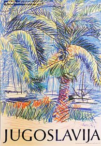 Palm Trees - Promotional Poster by Edo Murtic (1986)