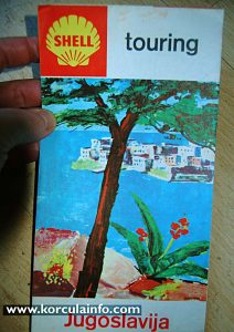 Shell Touring Map from 1964