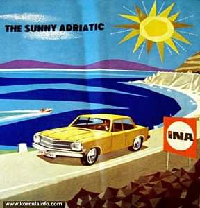 The Sunny Adriatic Tourist Brochure from 1967