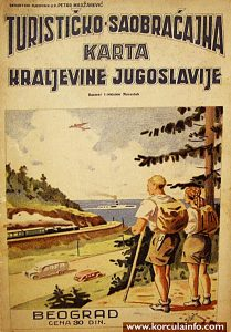 Tourist Map from 1930s