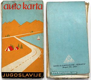Road map from 1966