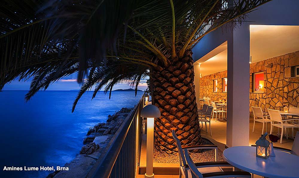 Amines Lume Hotel terrace
