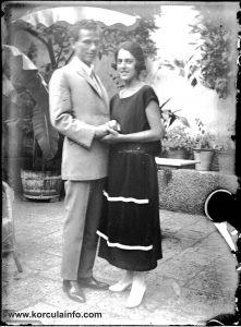 Young Couple Portrait @ Foretić Gardens, Korcula