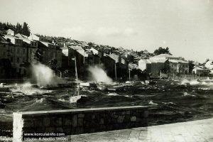 Bura in Korcula (1950s)