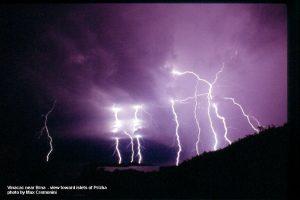 Lightning in Prizba, Brna - Korcula Island (2006)
