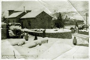 Snow in Borak - Korcula (1963)