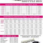 Airport Bus Shuttle: Dubrovnik Airport to Korcula Island, Peljesac and ferry to Mljet