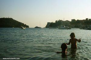 Beach in Brna