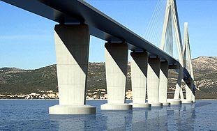 Peljesac Bridge evaluation study