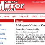Korcula itself is the natural beauty queen – Sunday Mirror