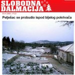 Snow on Peljesac