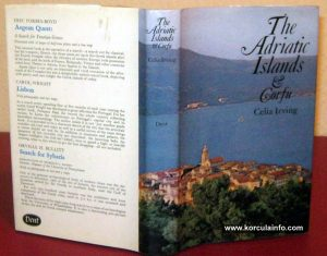 Image of Korcula @ Book by Celia Irving 'The Adriatic Islands and Corfu', published in 1971