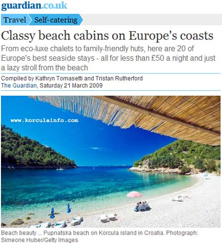 pupnatska luka beach in guardian