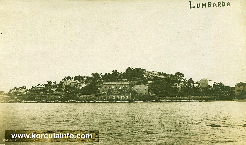 Lumbarda Panorama from 1928