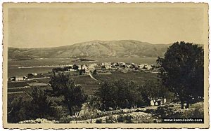 Vineyards in 1938 - Lumbarda