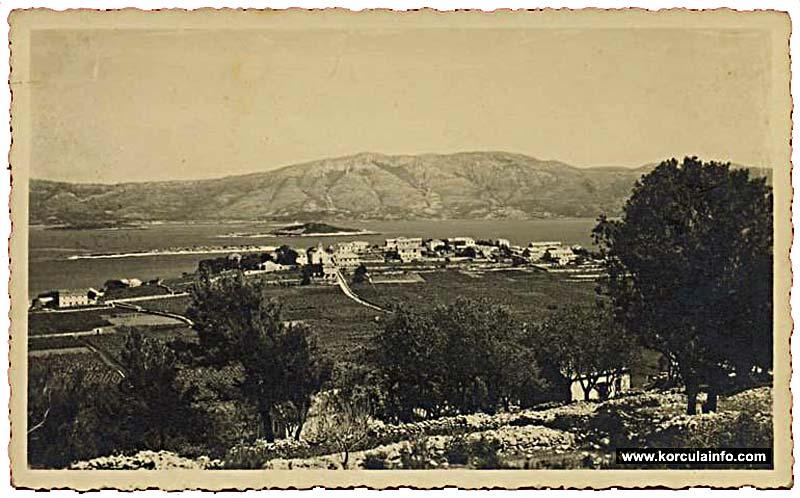 Vineyards in 1938 - Lumbarda