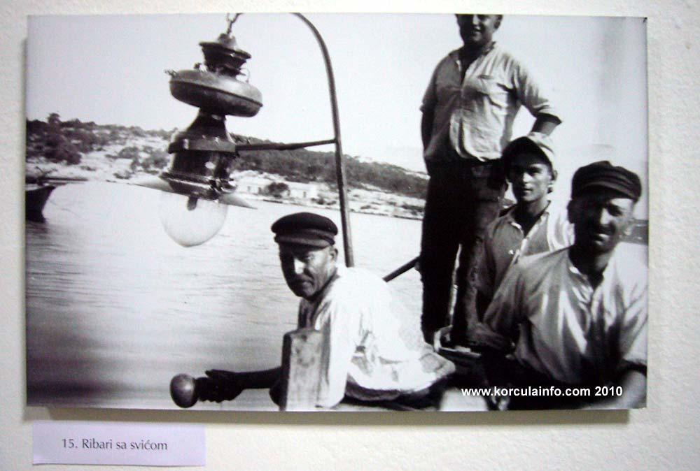 Group of Fisherman in Lumbarda in 1929