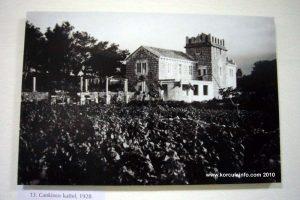 Cankin Castle in Lubarda (1930s)