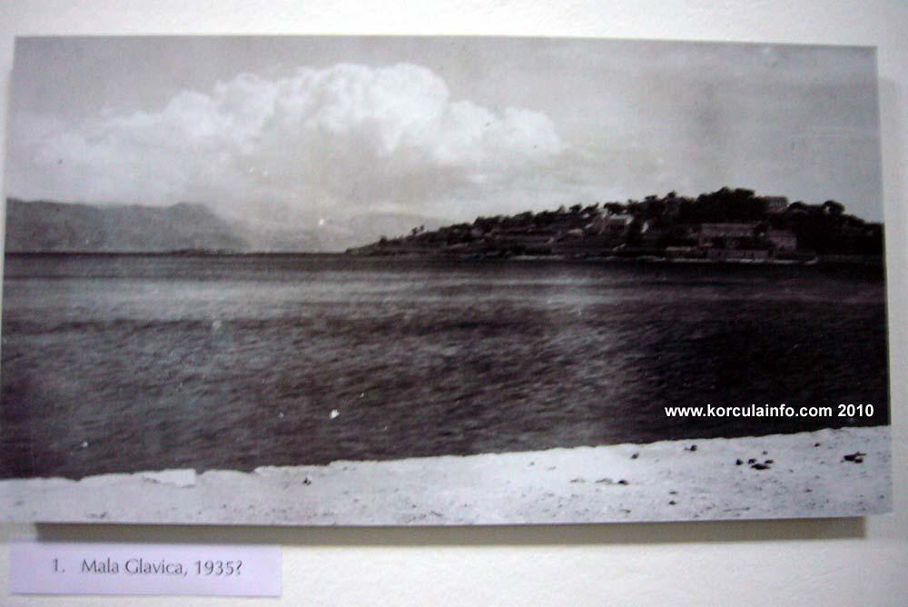 Mala Glavica, Lumbarda 1930s