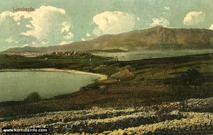 Vela Przina Beach and vineyards in 1918