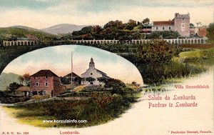 Lumbarda in 1900 - Villa Smerchinich