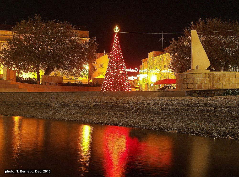 Christmas Tree in Korcula