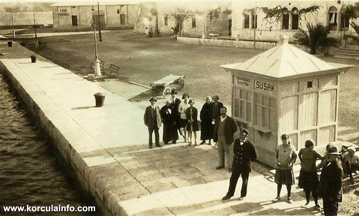 Kino Progres @ Riva, Korcula 1920s