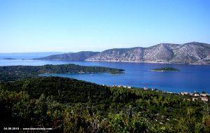 Views over Kneza and Peljesac (2010)