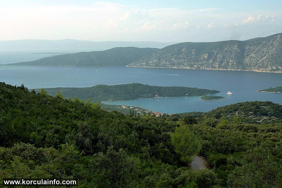 Kneža bay panorama