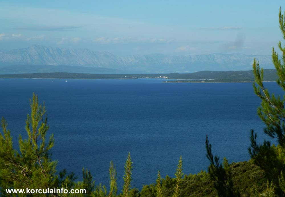 View over Loviste (Peljesac)
