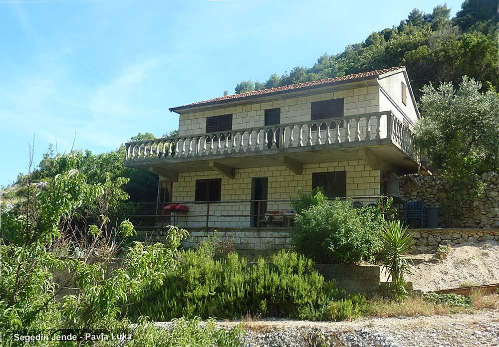 The façade of the House