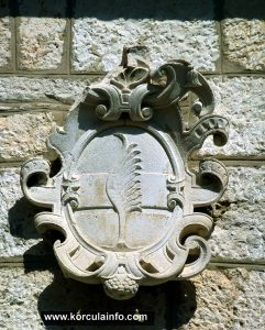 Coat of Arms on the facade