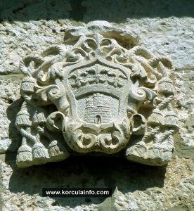 Coat of Arms on the Palace's wall