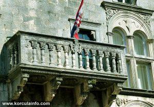 Balcony and Window @ Gabrielis Palace