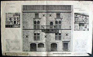 Gabrielis Palace Architectural Drawing