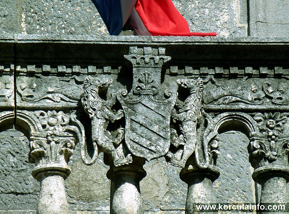 Coat of arms @ Gabrielis Palace
