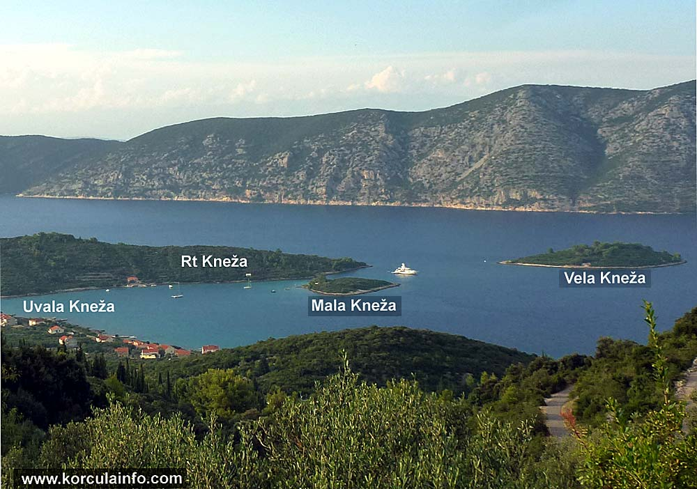 Islets Mala and Vela Kneža