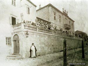 Dominican Convent (Samostan Andjela Cuvara) in 1900s, Korcula