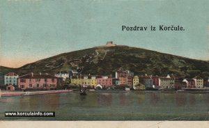 Put Svetog Nikole & Forteca (Korcula 1900s)