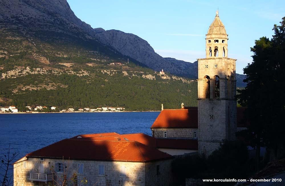 Sunset lights @ Sveti NIkola Church Tower