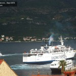 Three ferries in Korcula (2014)