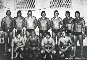 KPK water polo team in 1979