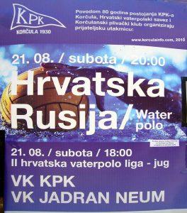 Hrvatska - Rusija match